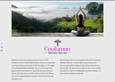 Coolamon Wellness Retreat