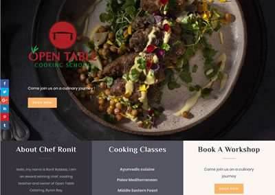 Open Table Cooking School