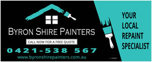 Byron Shire Painters Sign